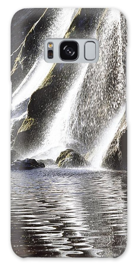 Day Galaxy S8 Case featuring the photograph Powerscourt Waterfall, Powerscourt by The Irish Image Collection