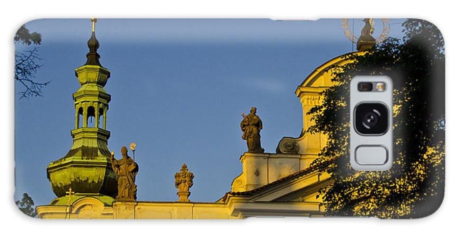 Prague Galaxy S8 Case featuring the photograph Prague - Strahov Monastery by Jon Berghoff