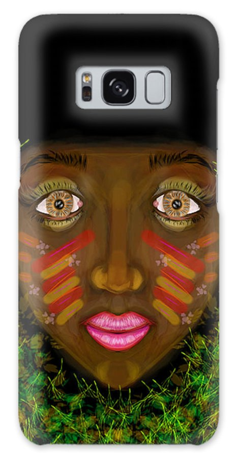Galaxy S8 Case featuring the digital art Princess by Mathieu Lalonde