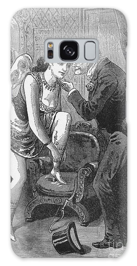 1880s Galaxy S8 Case featuring the photograph Prostitution, C1880 by Granger