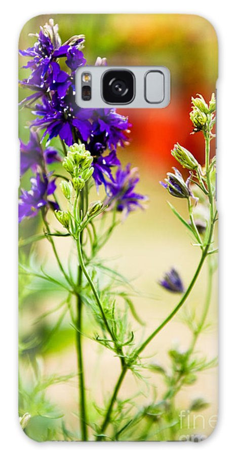 Flower Galaxy S8 Case featuring the photograph Purple Flowers by Syed Aqueel