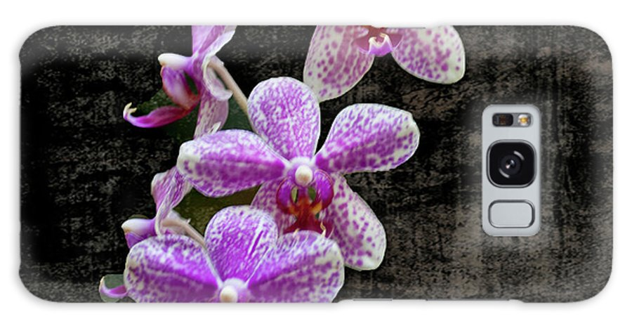 Purple Galaxy S8 Case featuring the photograph Purple Orchids by Carolyn Fox