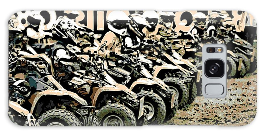 4 Wheeler Galaxy S8 Case featuring the photograph Quad Racers by George Pedro