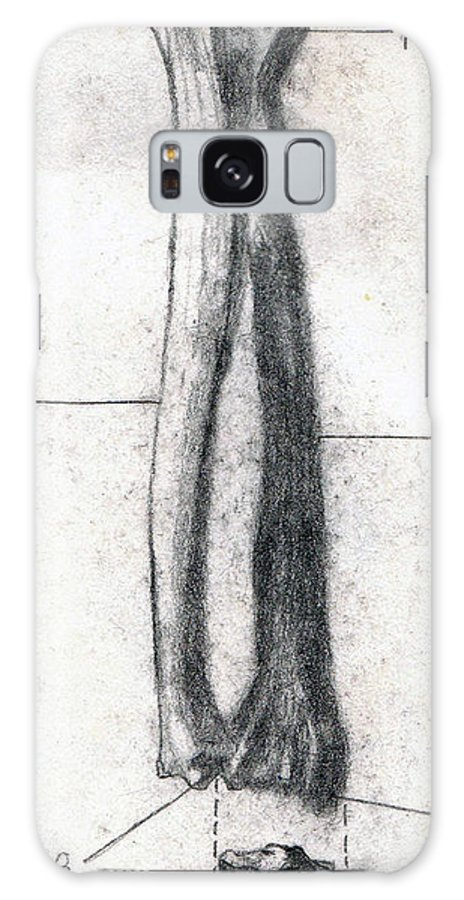 Anatomy Galaxy S8 Case featuring the drawing Radius And Ulna by Duwayne Washington