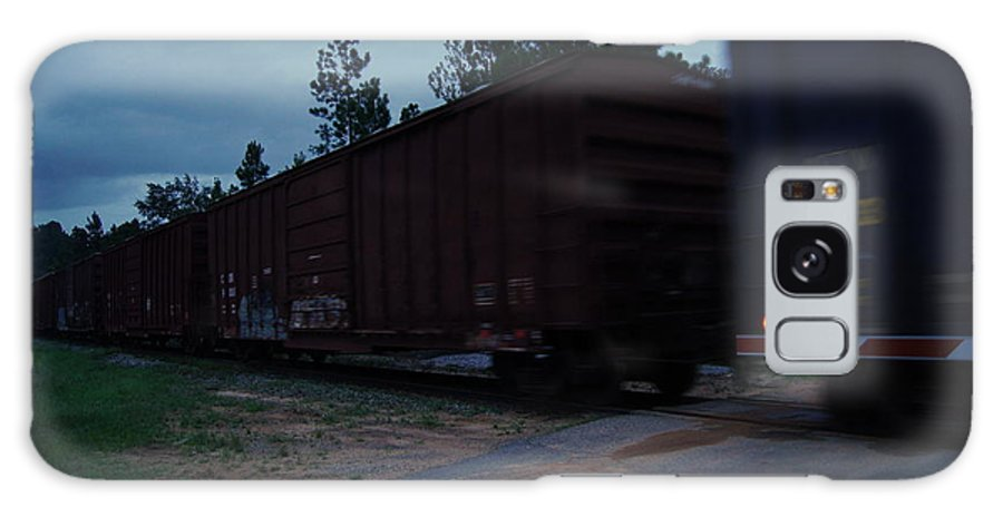 Railroad Galaxy S8 Case featuring the photograph Rails by Paul Wilford