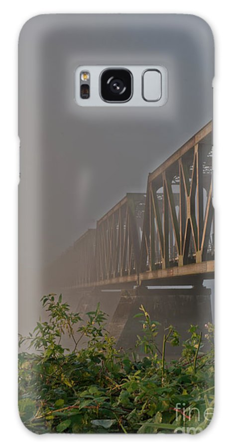 Beautiful Bc Galaxy S8 Case featuring the photograph Railway Bridge by Rod Wiens