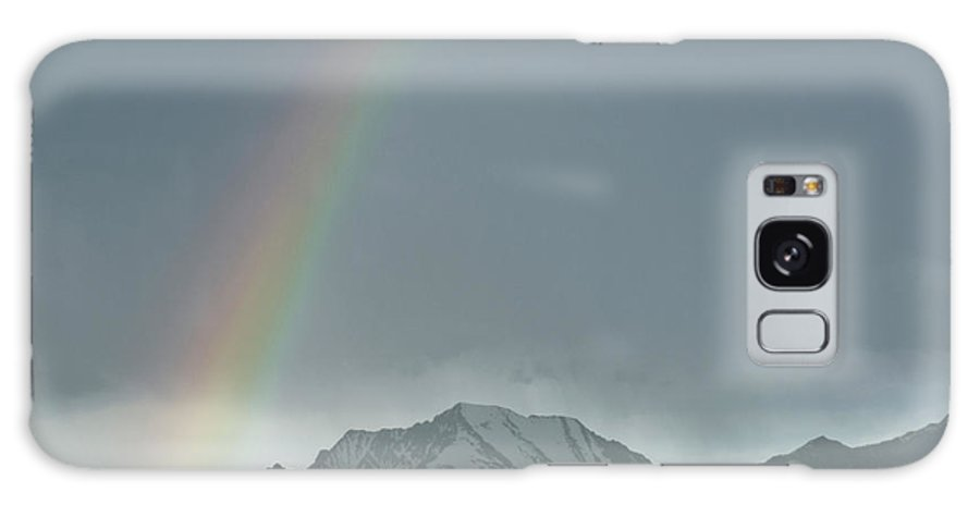 Americas Galaxy S8 Case featuring the photograph Rainbow Against The Crazy's by Roderick Bley