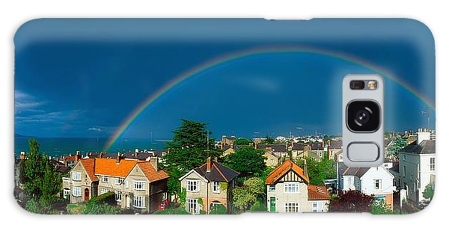 Atmosphere Galaxy S8 Case featuring the photograph Rainbow Over Housing, Monkstown, Co by The Irish Image Collection