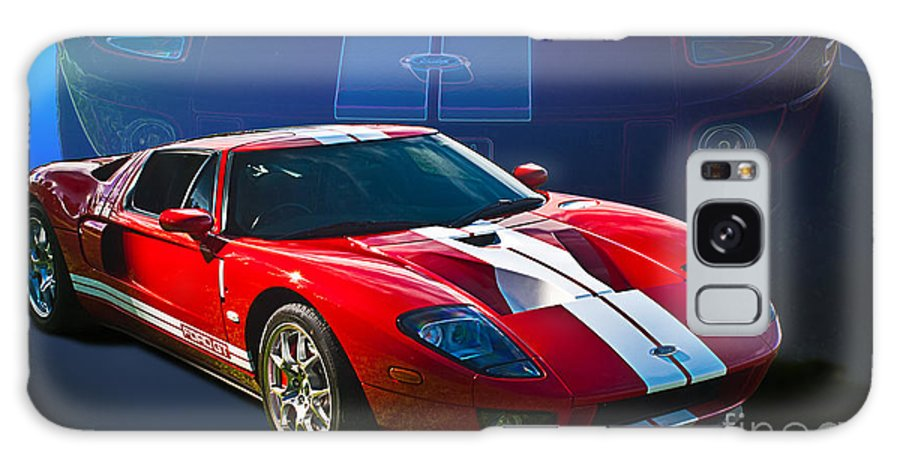 Red Galaxy S8 Case featuring the photograph Red Ford Gt40 by Stuart Row