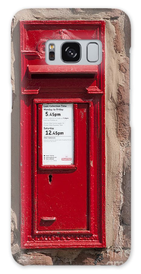2011 Galaxy S8 Case featuring the photograph Red Postbox by Andrew Michael