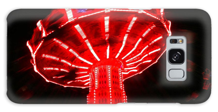 Fairs Galaxy S8 Case featuring the photograph Red Ride Is Wild by Kym Backland