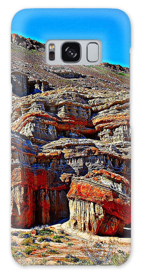 Red Rock Canyon Galaxy S8 Case featuring the photograph Red Rock Canyon California by John Bennett