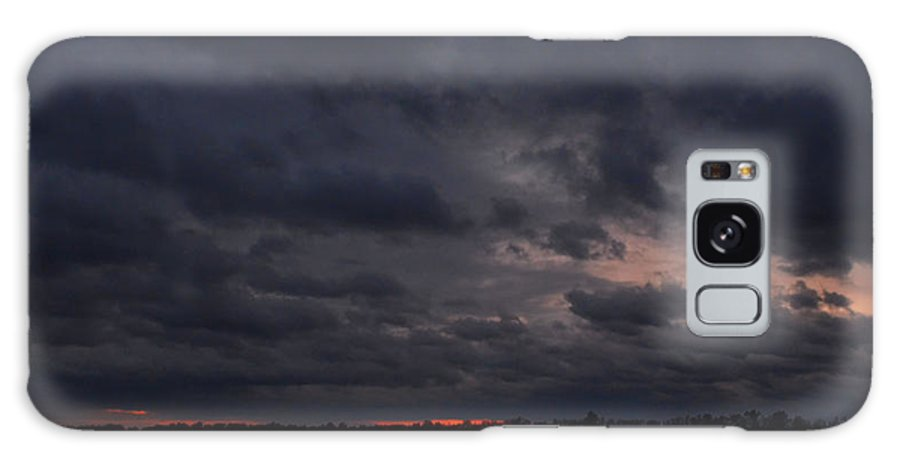 Clouds Galaxy S8 Case featuring the photograph Red Sky In The Morning by Debbie Portwood