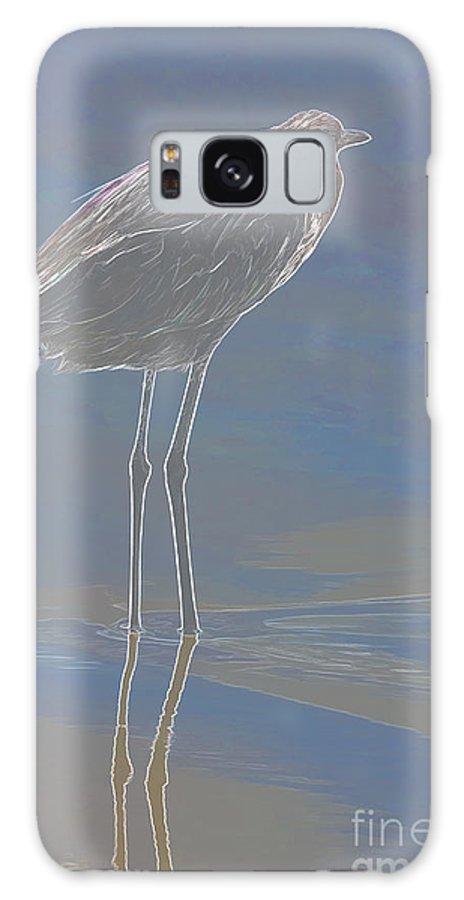 Wildlife Art Galaxy S8 Case featuring the photograph Reddish Egret by Deborah Benoit