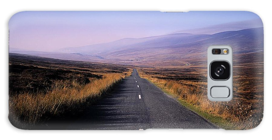Regional Road Galaxy S8 Case featuring the photograph Regional Road In County Wicklow by The Irish Image Collection