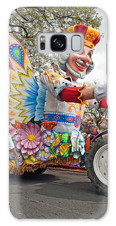 New Orleans Galaxy S8 Case featuring the photograph Rex Mardi Gras Parade IIi by Steve Harrington