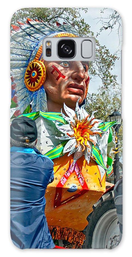 New Orleans Galaxy S8 Case featuring the photograph Rex Mardi Gras Parade Vii by Steve Harrington