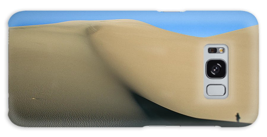 North America Galaxy S8 Case featuring the photograph Rippled Sand Dunes In Great Sand Dunes by Michael S. Lewis