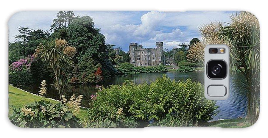 Architecture Galaxy S8 Case featuring the photograph River In Front Of A Castle, Johnstown by The Irish Image Collection