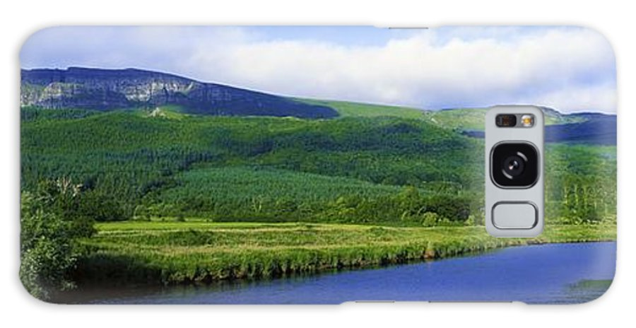 Calm Galaxy S8 Case featuring the photograph River Roe, Binevenagh, Co Derry by The Irish Image Collection