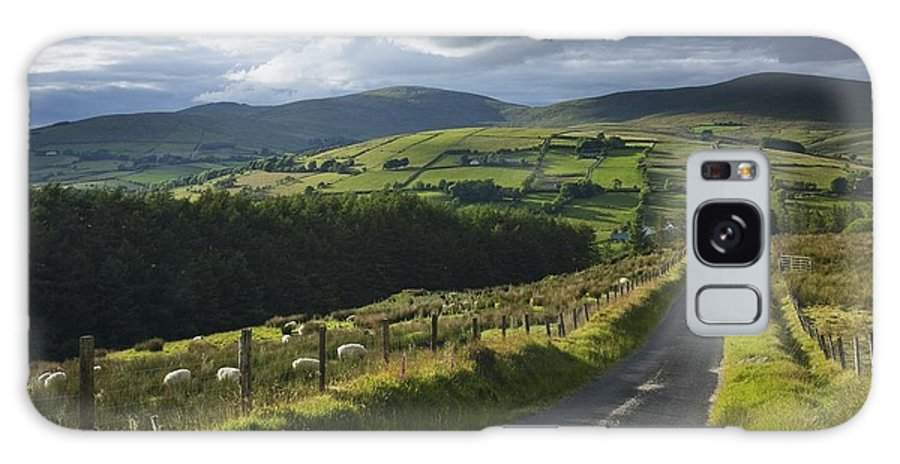 Mountain Galaxy S8 Case featuring the photograph Road Through Glenelly Valley, County by Gareth McCormack