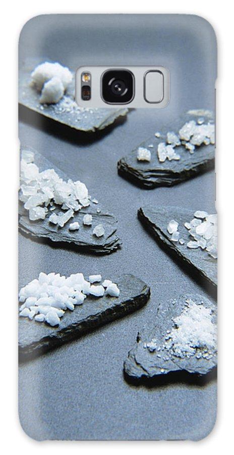 Rock Salt Galaxy S8 Case featuring the photograph Rock Salt by Veronique Leplat