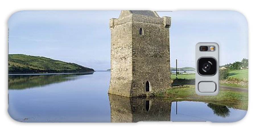 Clew Bay Galaxy S8 Case featuring the photograph Rockfleet Castle On Clew Bay, County by The Irish Image Collection