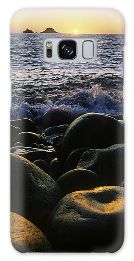 Basalt Galaxy S8 Case featuring the photograph Rocks At The Coast, Giants Causeway by The Irish Image Collection