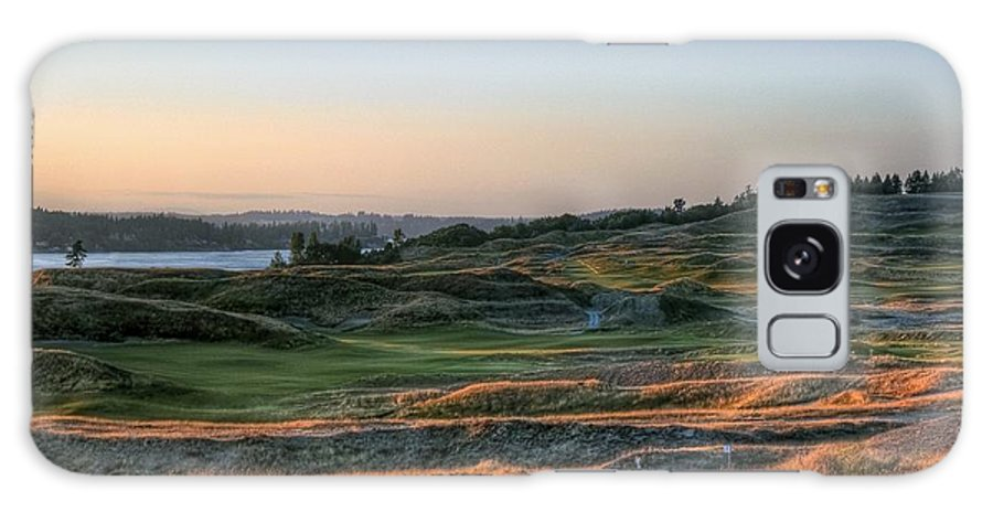 Chambers Creek Galaxy S8 Case featuring the photograph Rolling Green And Gold - Chambers Bay Golf Course by Chris Anderson