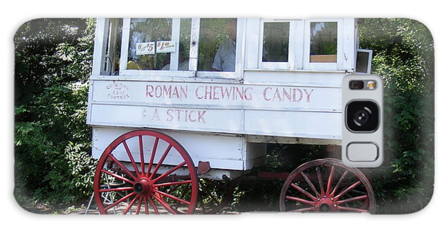 Roman Candy Galaxy S8 Case featuring the photograph Roman Candy Wagon by Renee Barnes