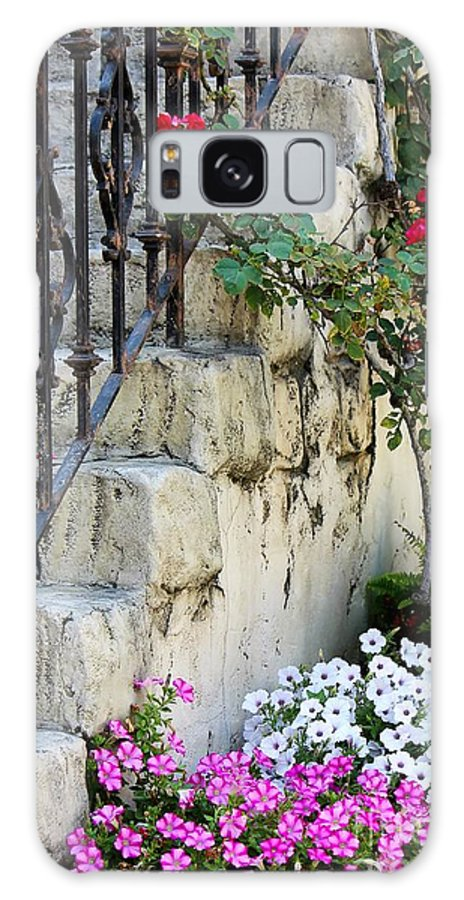 Steps Galaxy S8 Case featuring the photograph Romantic Steps by Sophie Vigneault