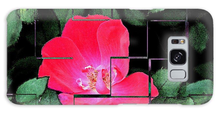 Teresa Blanton Galaxy S8 Case featuring the photograph Rose Interrupted by Teresa Blanton