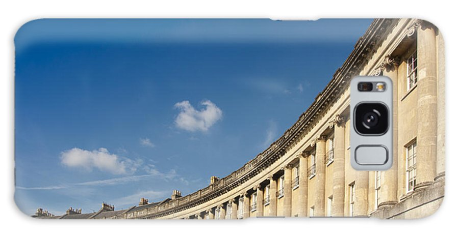Britain Galaxy S8 Case featuring the photograph Royal Crescent by Andrew Michael