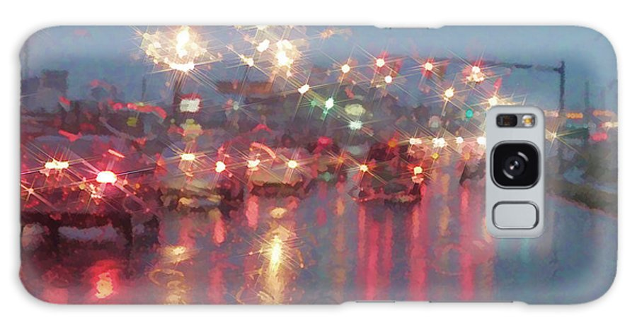 Traffic Galaxy S8 Case featuring the photograph Rush Hour In The Rain by Kathy Clark