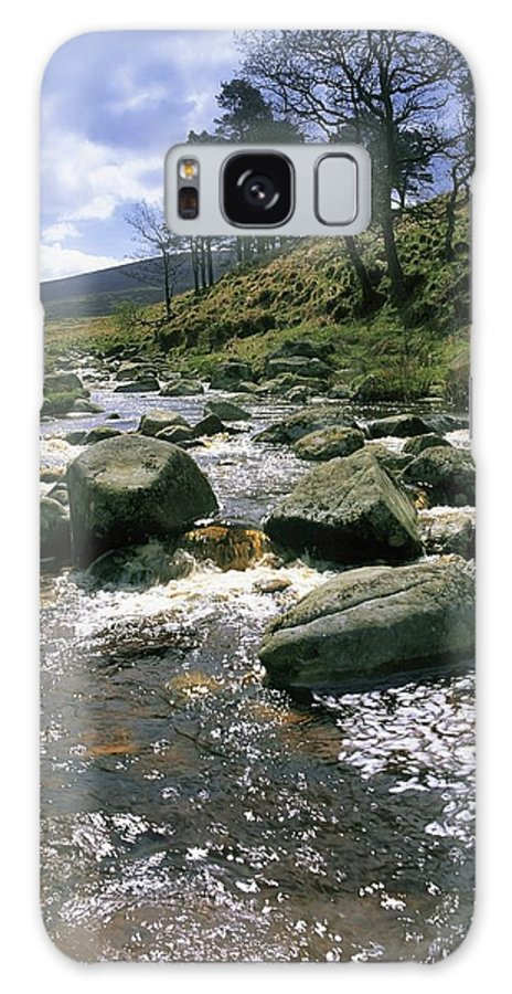 Co. Wicklow Galaxy S8 Case featuring the photograph Sally Gap, River Liffey, Co Wicklow by The Irish Image Collection