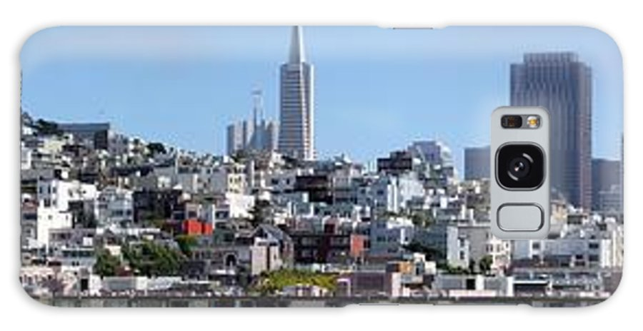 Panorama Galaxy S8 Case featuring the photograph San Francisco Panorama by Henrik Lehnerer