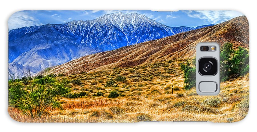 Mountains Galaxy S8 Case featuring the photograph San Jacinto by Jay Hooker