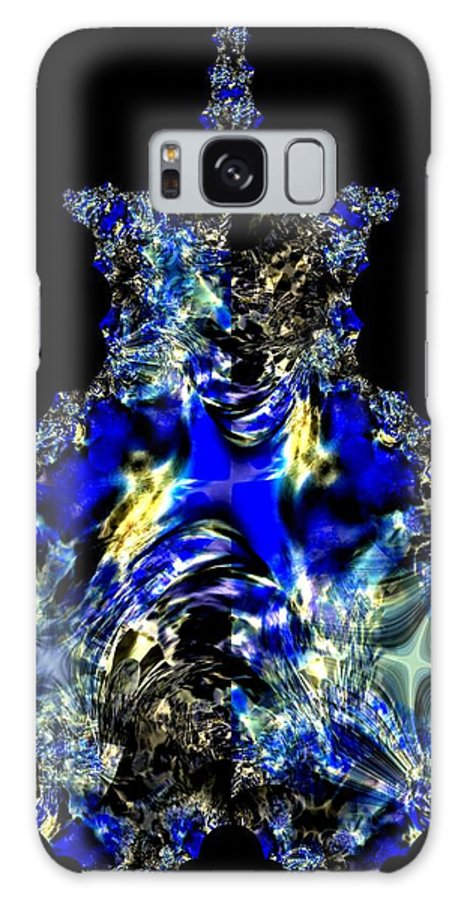 Sapphires Galaxy S8 Case featuring the digital art Sapphires by Maria Urso