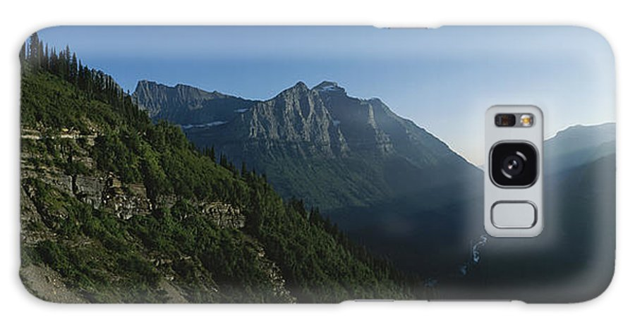 North America Galaxy S8 Case featuring the photograph Scenic Overlook In Glacier National by Michael S. Lewis