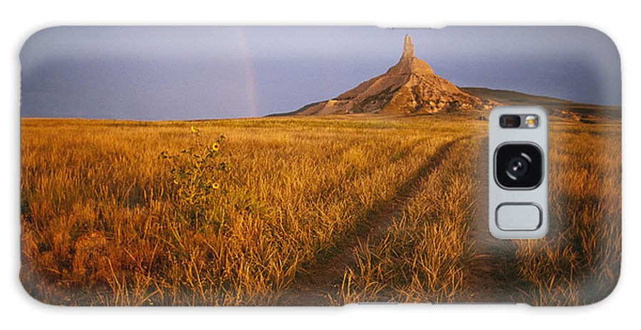 Historic Routes Galaxy S8 Case featuring the photograph Scenic View Of Western Nebraska by Michael S. Lewis