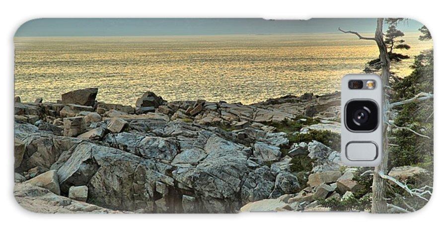 Schoodic Peninsula Galaxy S8 Case featuring the photograph Schoodic Sunset by Adam Jewell
