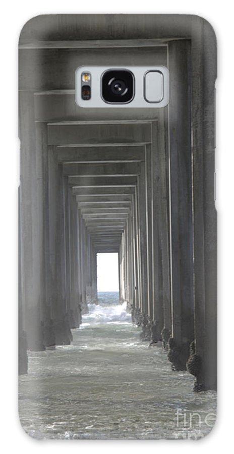 Scripps Pier Galaxy S8 Case featuring the photograph Scripps Pier La Jolla California2 by Bob Christopher