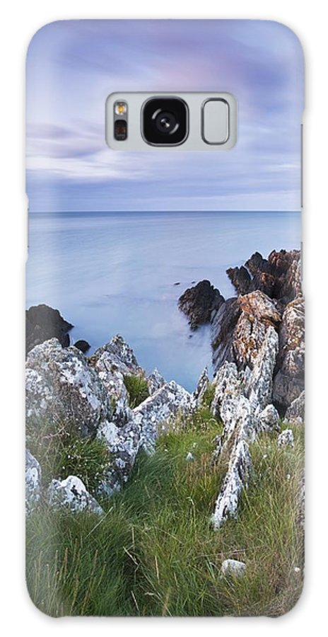 Clogherhead Galaxy S8 Case featuring the photograph Seascape From Coast Of Clogherhead by Peter McCabe