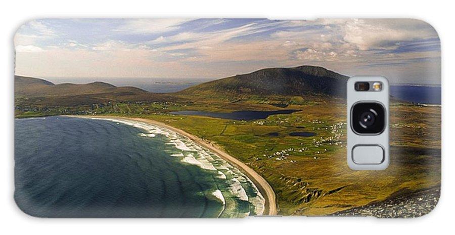 Vista Galaxy S8 Case featuring the photograph Seascape Vista by Gareth McCormack