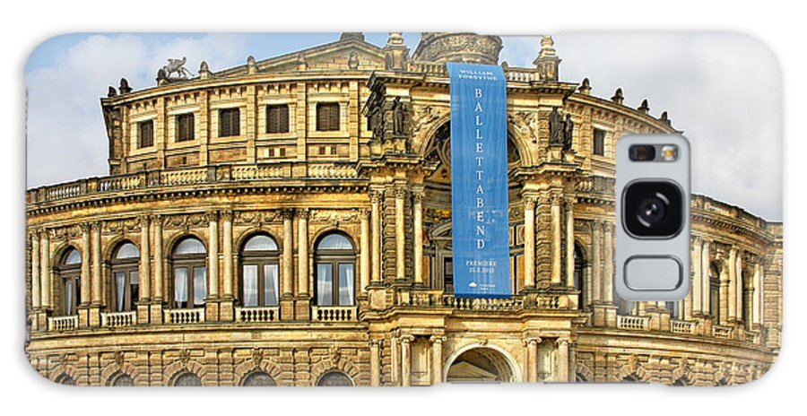 Semperoper Galaxy S8 Case featuring the photograph Semper Opera House Dresden by Christine Till