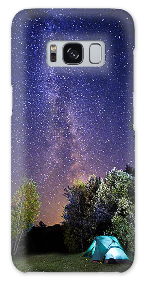 Camping Galaxy S8 Case featuring the photograph September Night Sky by Mircea Costina Photography