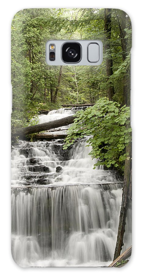 Wagner Falls Galaxy S8 Case featuring the photograph Serenity by Cindy Lindow
