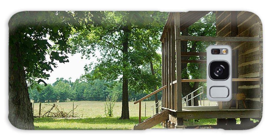 Arkansas Galaxy S8 Case featuring the photograph Settlers Cabin Arkansas 4 by Douglas Barnett