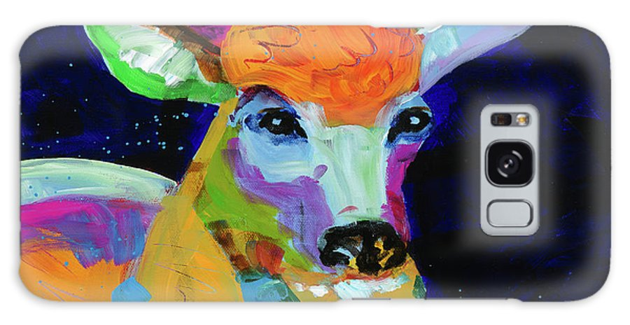 Deer Galaxy S8 Case featuring the painting Shady Afternoon by Tracy Miller
