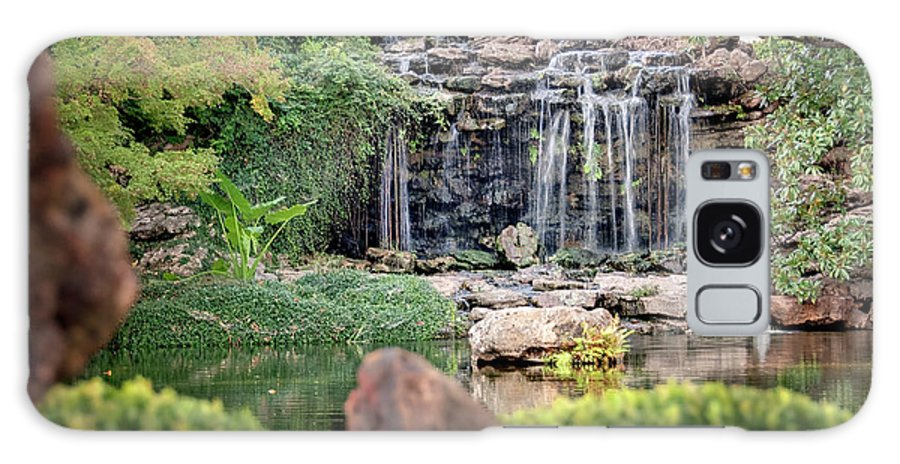 Waterfall Galaxy S8 Case featuring the photograph Shangri La by Tamyra Ayles